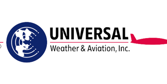 Universal Weather & Aviation Logo