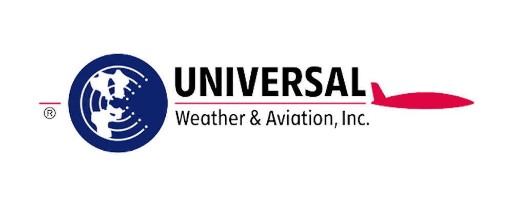 Universal Weather & Aviation Logo
