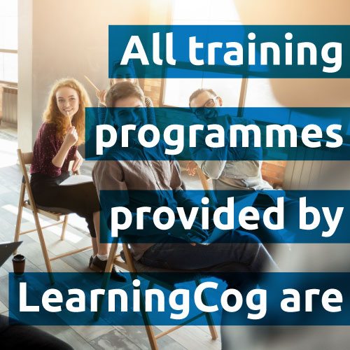 All training programmes by LearningCog are