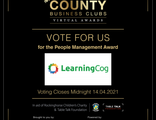 LearningCog nominated for People Management Award!