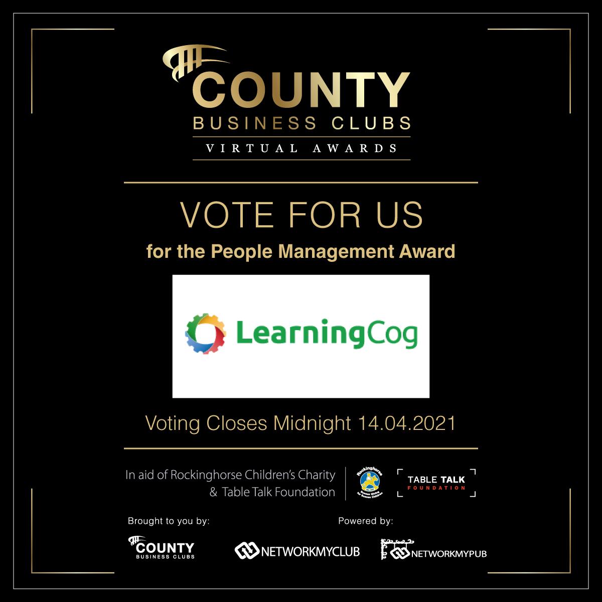 Vote for LearningCog